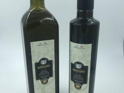 Olio EVO bottiglia 500ml/1lt